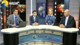 Fuqua on Azerbaijan Television
