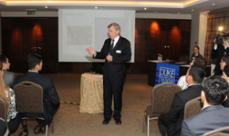 Duke Fuqua visits Azerbaijan